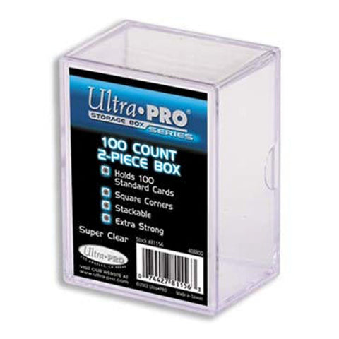 Ultra Pro Card Storage Box 100ct Box | 2 Piece Construction