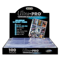 ULTRA PRO 100ct | Hologram 9-Pocket Pages |