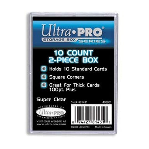 Ultra Pro Card Storage Box 10ct Box | 2 Piece Construction