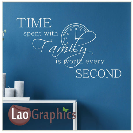 Time spent with family Home Decor Art Decals
