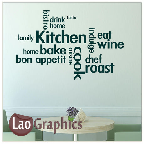 Kitchen Home Decor Art Decals