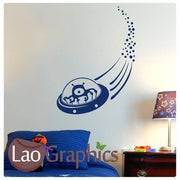 Alien Ufo Childs Wall Stickers Home Decor Art Decals Large Transfers-LaoGraphics