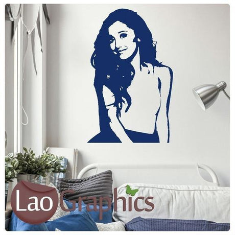 Ariana Grande Wall Stickers Home Decor Art Decals Large UK Transfers-LaoGraphics