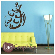 Army Grenade Military & Army Wall Stickers Home Decor Art Decals-LaoGraphics