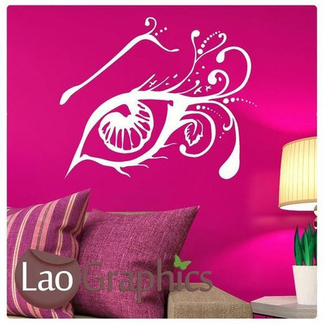 Arty Eye Girls Room Wall Stickers Home Decor Art Decals Large Transfer-LaoGraphics