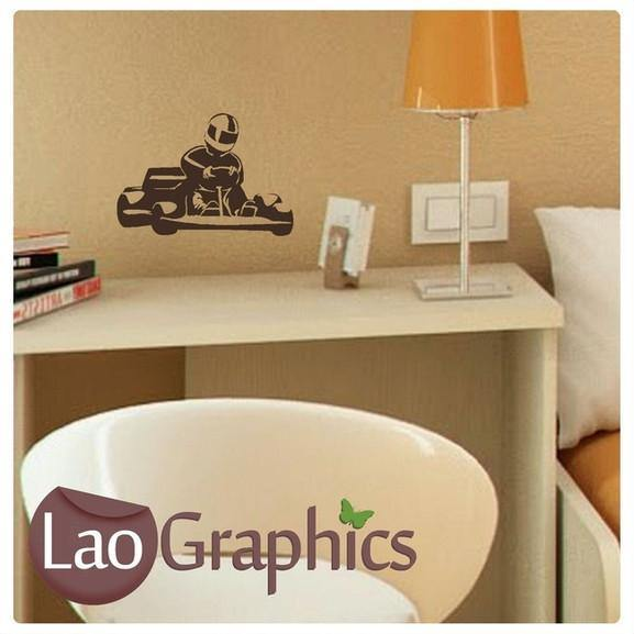 Bargain Go Kart Discount Cheap Wall Stickers Home Decor Art Decal Uk Laographics