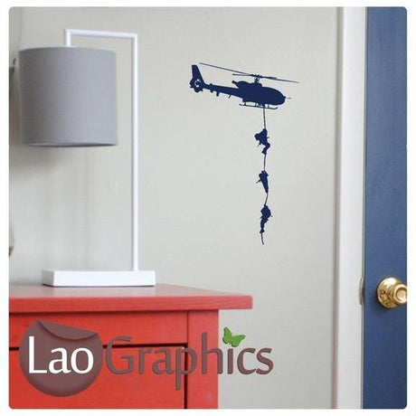 Bargain Helicopter Discount & Cheap Wall Stickers Home Decor Art Decals-LaoGraphics