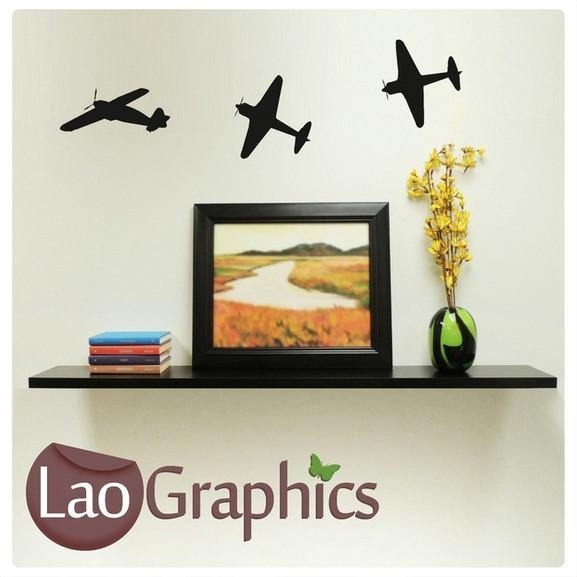 Bargain Planes Discount & Cheap Wall Stickers Home Decor Art Decals-LaoGraphics
