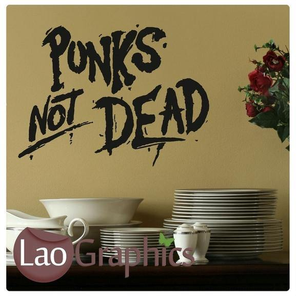 Bargain Punk Quote Wall Sticker small Home Decor Art Decal