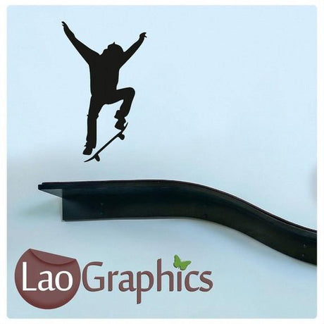 Bargain Skateboarder Discount & Cheap Wall Stickers Home Decor Art Decals-LaoGraphics