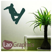 Bargain Snowboarder Winter Sports Wall Stickers Home Decor Art Decals-LaoGraphics