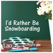 Bargain Snowboarding Winter Sports Wall Stickers Home Decor Art Decals-LaoGraphics