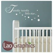 Bargain Twinkle Nursery Quote Wall Stickers Home Decor Cute Art Decals-LaoGraphics