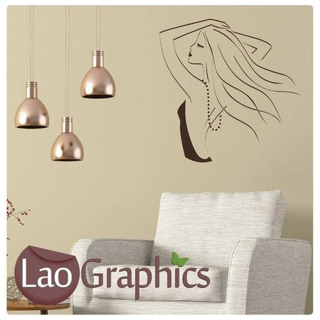 Salon Wall Stickers