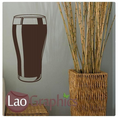 Beer Vinyl Transfer Pub Wall Stickers Home Decor Drinking Art Decal UK-LaoGraphics