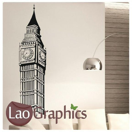 Big Ben London World Landmark Wall Stickers Home Decor Art Decals UK-LaoGraphics