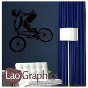 Bmx Extreme Sports Boys Bedroom Wall Stickers Home Decor Boys Room Art Decals-LaoGraphics
