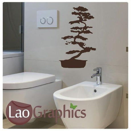 Bonsai Tree Asian Korean Wall Stickers Home Decor Chinese Art Decals-LaoGraphics
