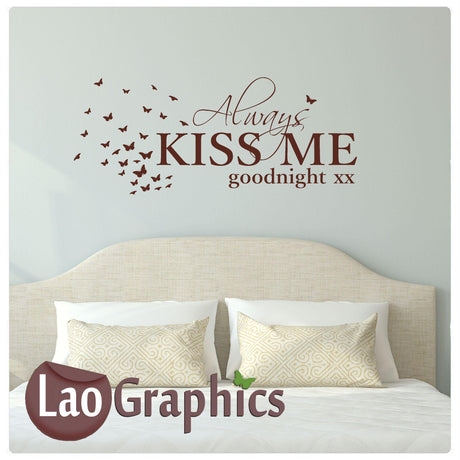 Kiss me goodnight Home Decor Art Decals