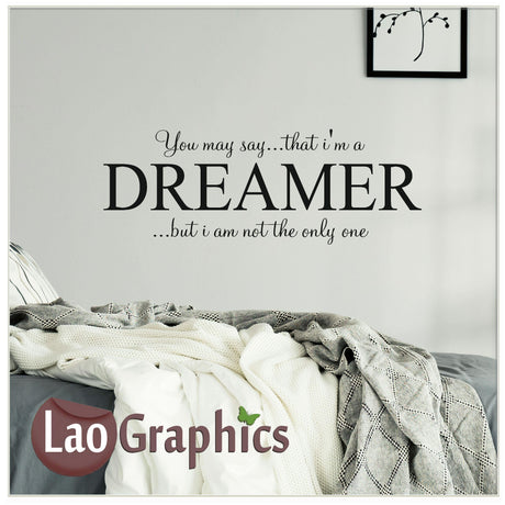 Dreamer Home Decor Art Decals