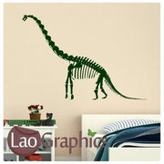 Brachiosaurus Dinosaur Boys Bedroom Wall Stickers Home Decor Art Decals-LaoGraphics