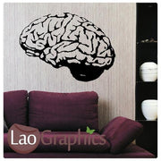 Brain Vinyl Transfer Wall Stickers Home Decor Modern Art Decals UK-LaoGraphics