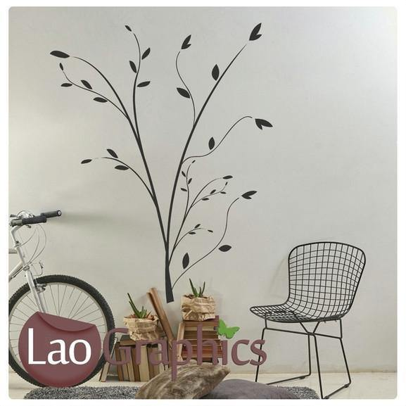 Branch / Tree Decorative Nature Wall Stickers Home Decor Art Decals-LaoGraphics