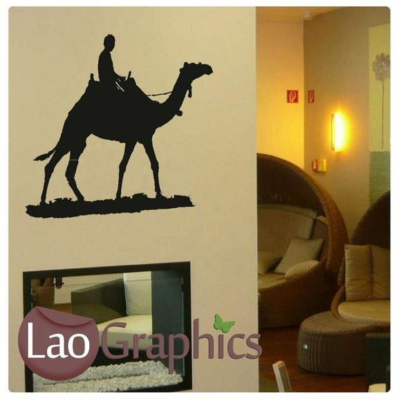 Camel Egyptian Theme Style Wall Stickers Home Decor Egypt Art Decals ...