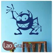 Cartoon Monster Boys Bedroom Wall Stickers Home Decor Boys Room Art Decals-LaoGraphics