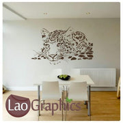Cheetah Wild Animals Large Kitty Wall Stickers Home Decor Art Decals-LaoGraphics
