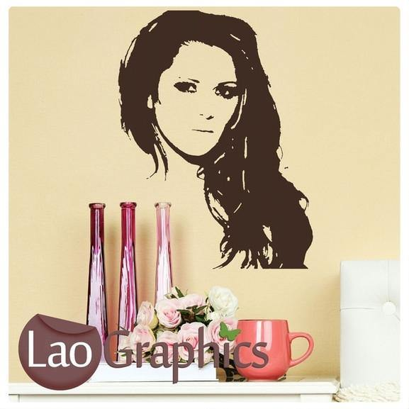 Cheryl Cole Wall Stickers Home Decor Female Celebrities Art Decals UK-LaoGraphics