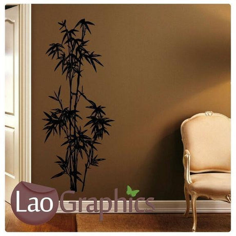 Chinese Bamboo Asian Korean Wall Sticker Home Decor Art Decal Transfer-LaoGraphics