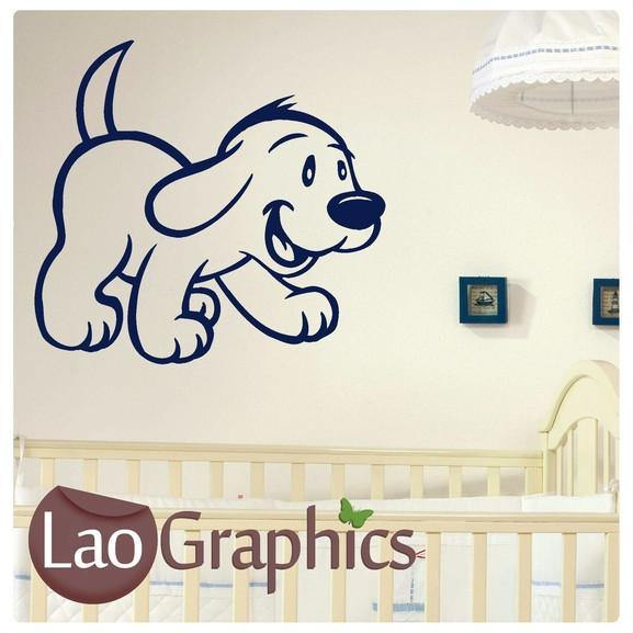Clifford the Dog Canine Puppy Dog Lovers Wall Stickers Home Decor Art Decals-LaoGraphics