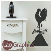 Cockrel / Rooster Wild Animals Wall Stickers Home Decor Art Decals UK-LaoGraphics