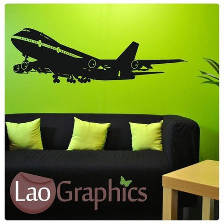 Commercial Aeroplane Aviation & Flight Wall Stickers Home Decor Art Decals-LaoGraphics