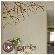 Corner Branch Large Modern Wall Stickers Home Decor Vinyl Art Decals-LaoGraphics