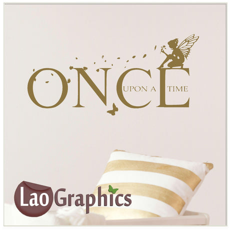 Once upon a time Home Decor Art Decals