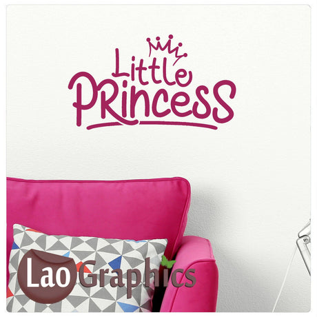 Little princess Home Decor Art Decals