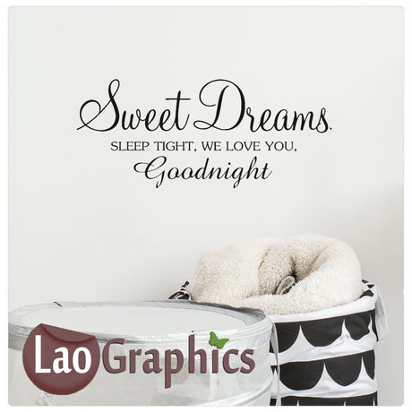 Sweet dreams Home Decor Art Decals