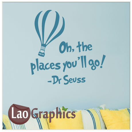 Oh the places Home Decor Art Decals
