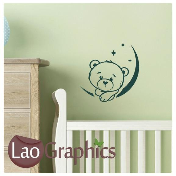 Cute Little Teddy Bear Wall Sticker Home Decor Bargain Vinyl Art Decal-LaoGraphics