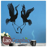 Dancing Birds Animal Wall Stickers Home Decor Vinyl Art Decal Transfer-LaoGraphics