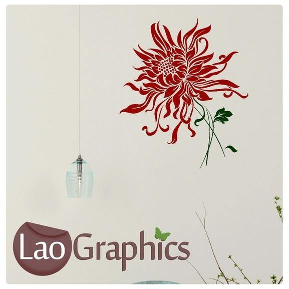 Dandelion Head Modern Interior Wall Stickers Home Decor Art Decals-LaoGraphics