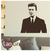 David Bowie Wall Stickers Home Decor Celebrity Art Decal Transfers UK-LaoGraphics