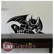 Devil Vinyl Transfer Wall Stickers Home Decor Boys Bedroom Art Decals-LaoGraphics