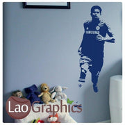Diego Costa Famous Footballer Wall Stickers Home Decor Boys Art Decals-LaoGraphics