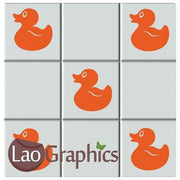 Ducks Bathroom Tile Transfers Home Decor Art Decals Vinyl Stickers UK-LaoGraphics