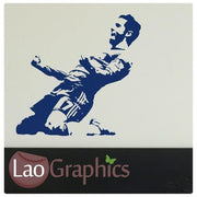 Eden Hazard Famous Footballer Wall Stickers Boys Home Decor Art Decals-LaoGraphics