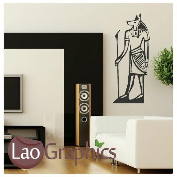 egyptian god theme style wall sticker home decor egypt vinyl art