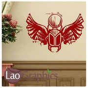 Egyptian Scarab Theme Style Wall Stickers Home Decor Egypt Art Decals-LaoGraphics